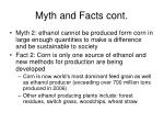 myth and facts cont