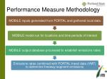 performance measure methodology