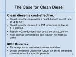 the case for clean diesel1