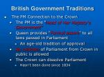british government traditions1