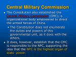 central military commission