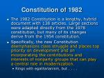 constitution of 19821