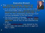 executive branch2