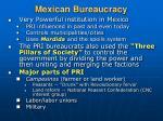 mexican bureaucracy