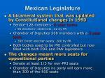 mexican legislature