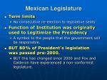 mexican legislature1