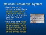 mexican presidential system1