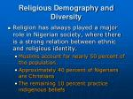 religious demography and diversity