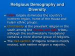 religious demography and diversity1