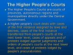 the higher people s courts