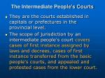 the intermediate people s courts