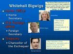 whitehall bigwigs
