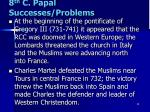 8 th c papal successes problems2