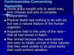 controversies concerning humanity2