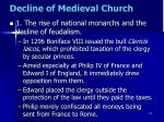 decline of medieval church1
