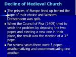 decline of medieval church13