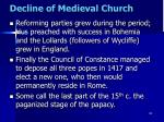 decline of medieval church14