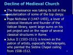 decline of medieval church15