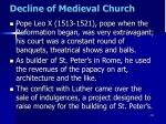 decline of medieval church16