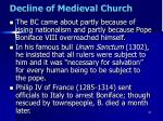 decline of medieval church7
