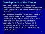 development of the canon9