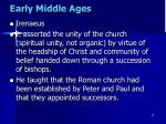 early middle ages1