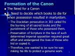 formation of the canon4