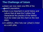 the challenge of islam1