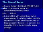 the rise of rome4