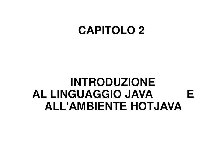 capitolo 2 n.