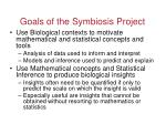 goals of the symbiosis project1