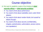 course objective2