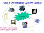 how a distributed system looks
