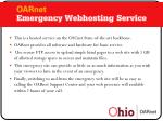 emergency web hosting
