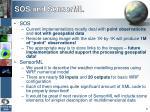 sos and sensorml