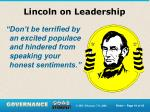 lincoln on leadership1