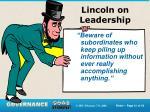lincoln on leadership3