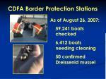 cdfa border protection stations