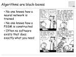 algorithms are black boxes