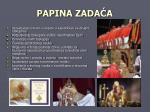 papina zada a