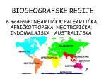 biogeografske regije