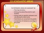 co scholastic areas