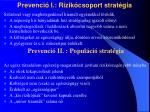 prevenci i rizik csoport strat gia