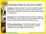 challenges faced by service providers1