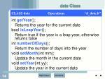 date class1