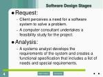 software design stages