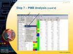 step 7 pmb analysis cont d1