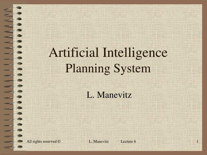 artificial intelligence planning system n.
