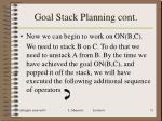 goal stack planning cont15