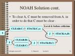 noah solution cont5